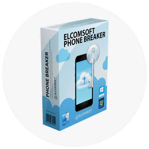 Elcomsoft Phone Breaker