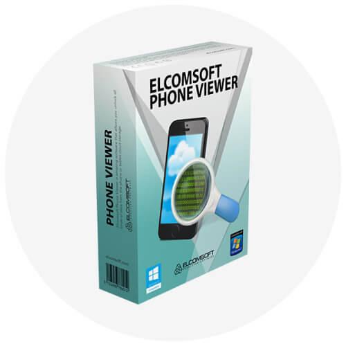 Elcomsoft Phone Viewer