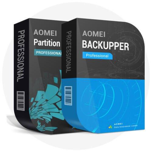 AOMEI Backupper Pro (1 pc) + PA pro